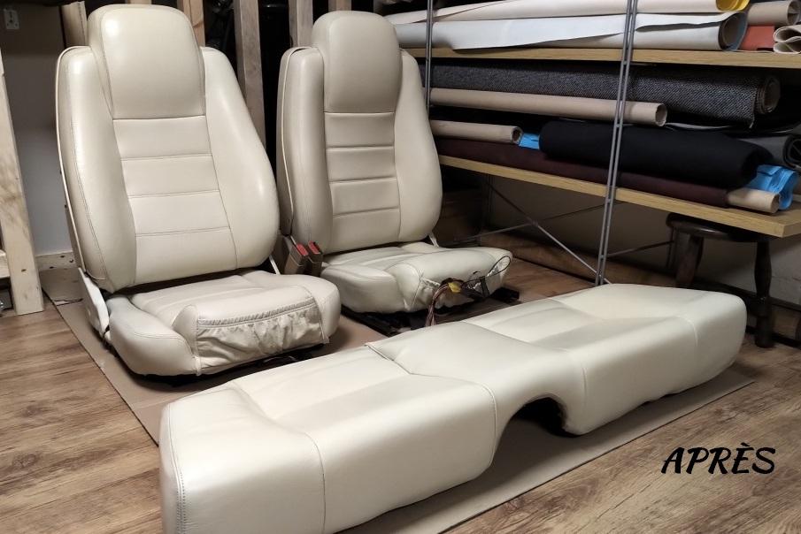 sièges Jaguar XJS