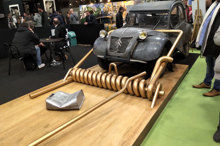 2cv thierry farges retromobile 2019